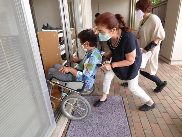 車椅子研修